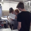 Wycieczka naukowa do Laboratorium Edukacyjno-Badawczego Odnawialnych Źródeł i Poszanowania Energii AGH w Miękini