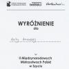 II Międzynarodowe Mistrzostwa Polski w Krawiectwie