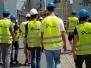 2017-05-29 Uczniowie kierunku technik urządzeń i systemów energetyki odnawialnej w elektrociepłowni EC1 należącej do Grupy TAURON.