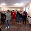 Wspólne tańce z wolontariuszem z Meksyku