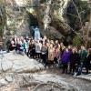 Wycieczka nad wodospad Wilczki