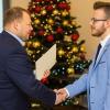 wręczenie Stypendium Prezesa Rady Ministrów - Kamil Lorek