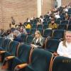 Przywitanie uczestników w aulii Uczelni