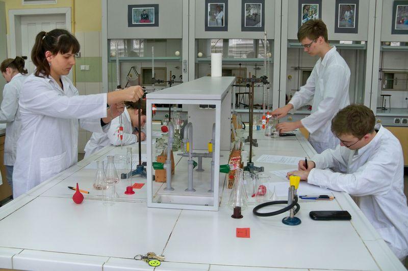 II Szkolny Konkurs Chemiczny w BSP